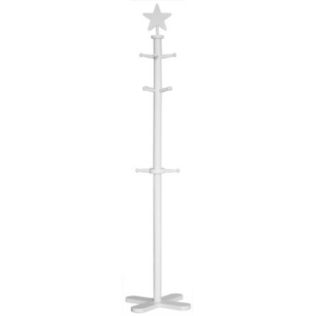 KIDS CONCEPT Coat Stand Star, white
