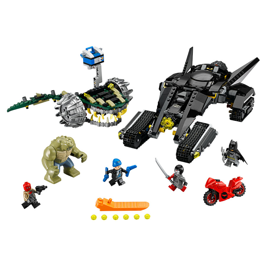 LEGO® DC Universe™Super Heroes - Batman™: Killer Crocs™ Überfall in der Kanalisation 76055