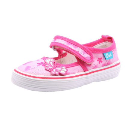 BECK Girls Leinen-Schuhe SUMMERTIME pink
