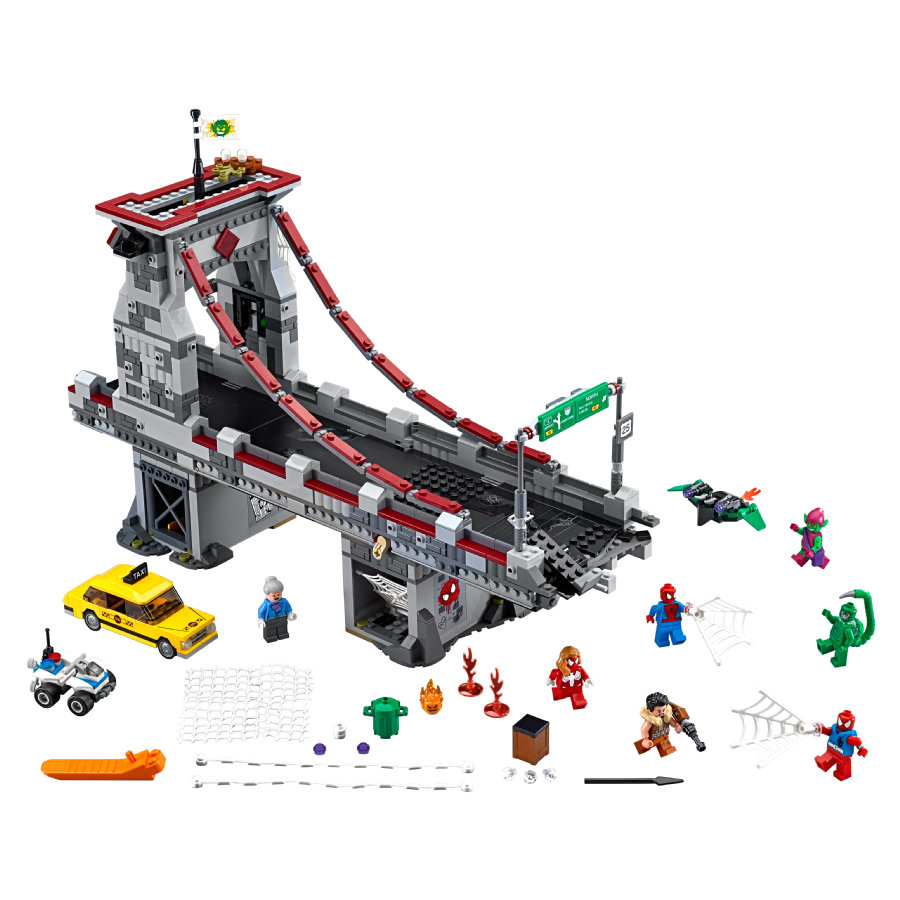 LEGO®DC Marvel™Super Heroes Spider-Man™: Ultimatives Brückenduell der Web-Warriors