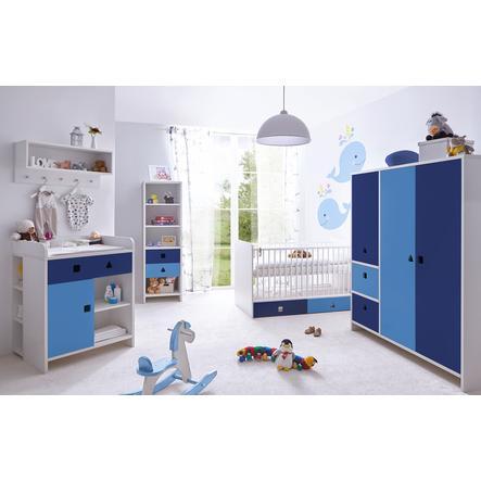 TiCAA Babyzimmer Cubo blau, 5-teilig