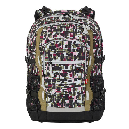 4YOU BTS Schulrucksack Jampac - 341-49 Geometric Sheen