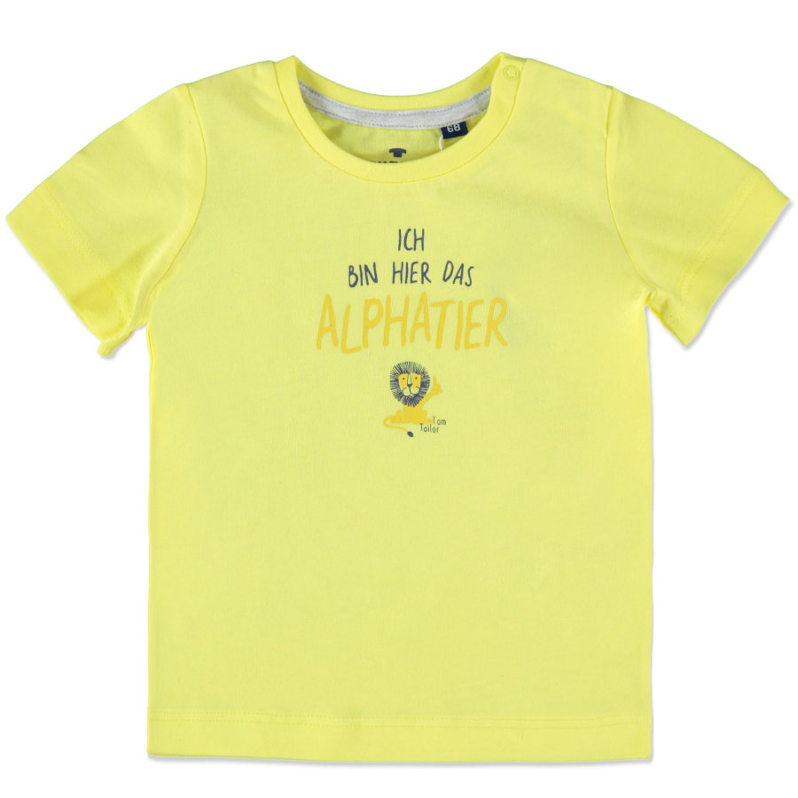 TOM TAILOR Boys T-Shirt yellow
