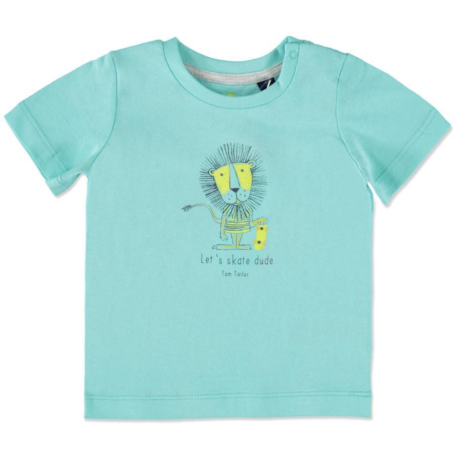 TOM TAILOR Boys T-Shirt fresh blue