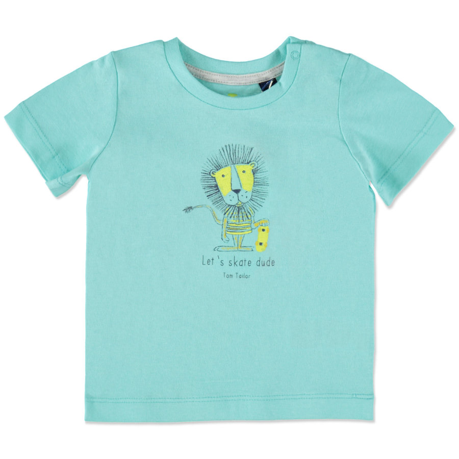 TOM TAILOR Boys T-Shirt fresh blue