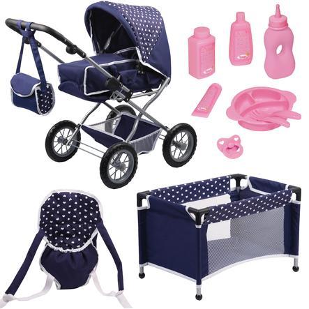 Bayer Design Zestaw dla lalki Grande, kolor fioletowy 1505115