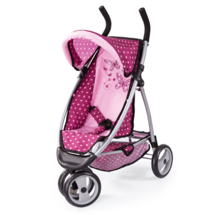 BAYER DESIGN Dockvagn Jogger Sport pink 3995300