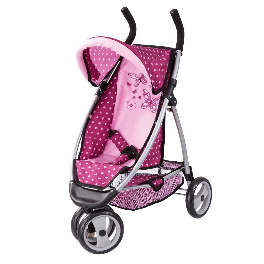 BAYER DESIGN Poppenwagen Jogger Sport pink 3995300