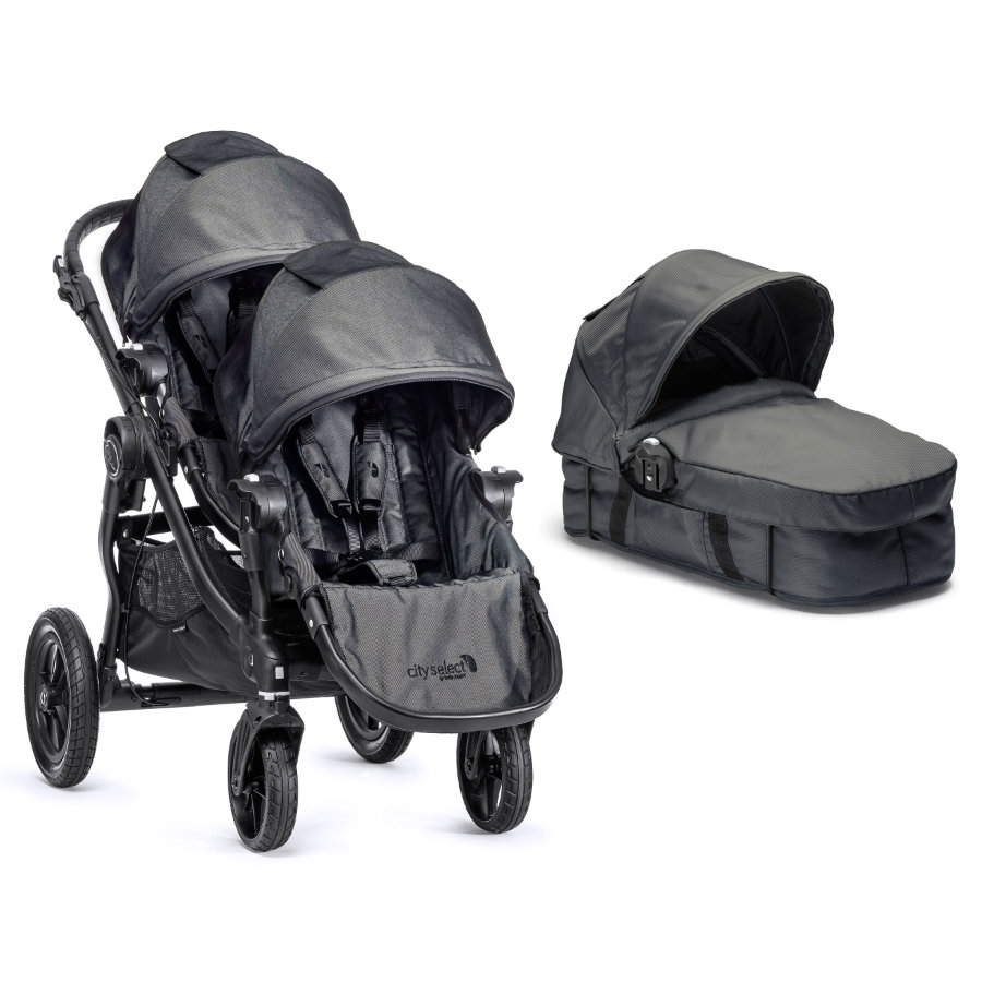 baby jogger Sportwagen city select® 4 Rad Komplett-Set black denim