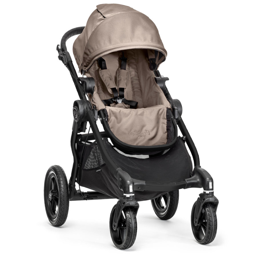 baby jogger Sportwagen city select® 4 Rad sand