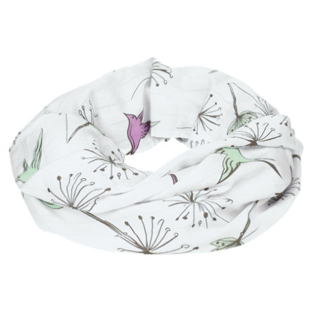 LÄSSIG Multifunkční šátek Colibri bílý
