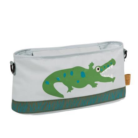 LÄSSIG Casual Buggy Organizer Crocodile granny