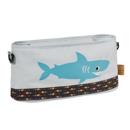 LÄSSIG Casual Organizér na kočárek Shark ocean