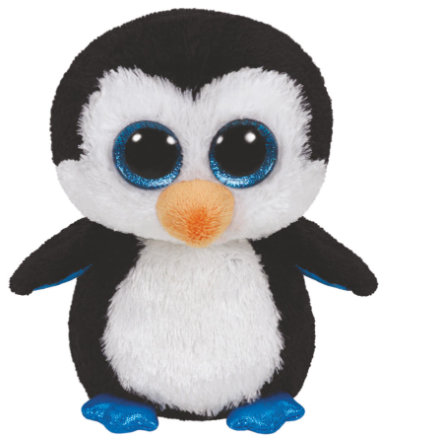 ty Pinguin Waddles, 15 cm