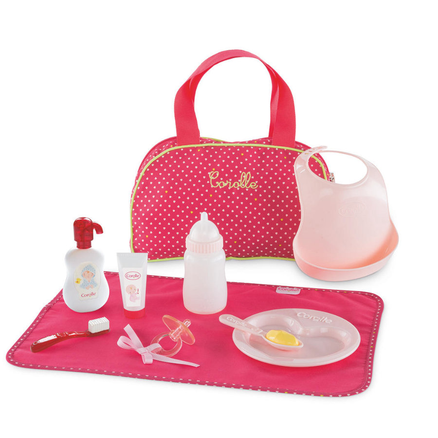 Corolle Set Baby-Accessoires Kersenrood 36/42cm