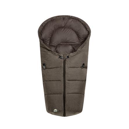 odenwälder Fußsäckchen Dauni Fashion Melange schoko-melange