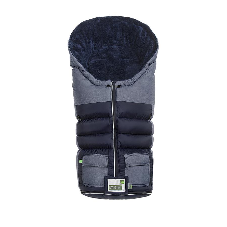 odenwälder Fußsack Snow-Master bleu-melange