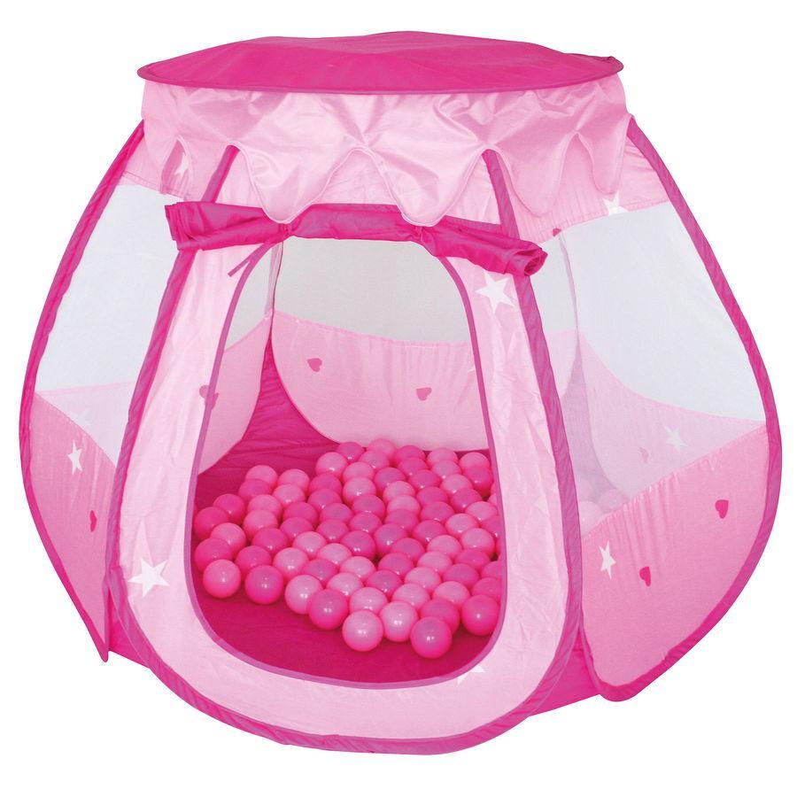 knorr® toys Spielzelt Bella mit 100 Bällen, pink