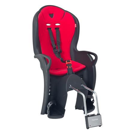 HAMAX Polkupyörän lastenistuin Kiss kiinnikkeellä musta/punainen