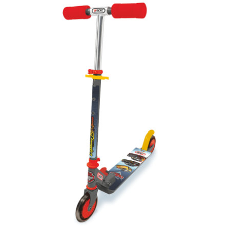 SMOBY Disney Trottinette 2 roues Cars Carbon, pliable