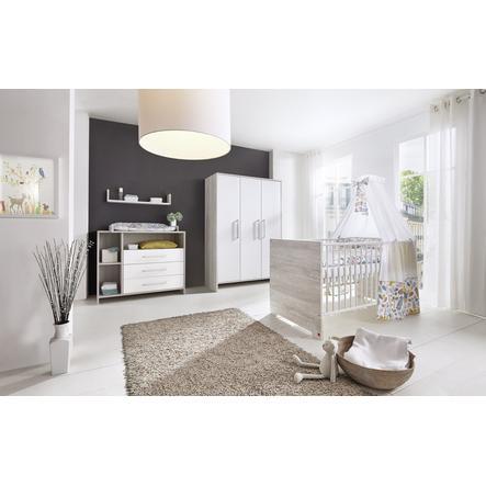 SCHARDT Set cameretta neonato ECO CASCINA bianco / colore legno