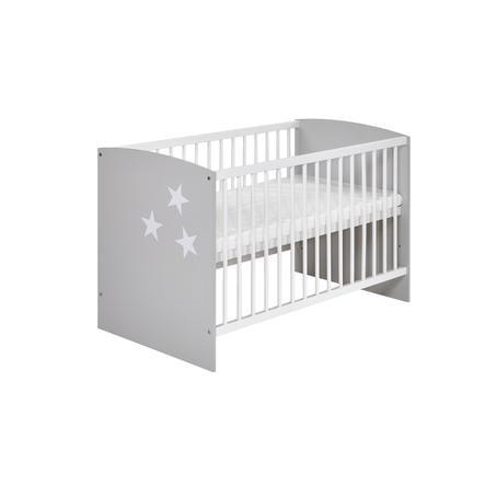 SCHARDT Lit bébé CLASSIC GREY, 60 x 120 cm