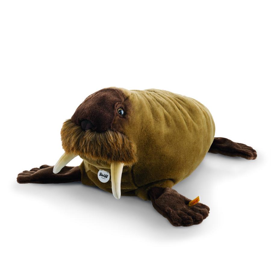 Steiff Wotan Valross, brun 60 cm