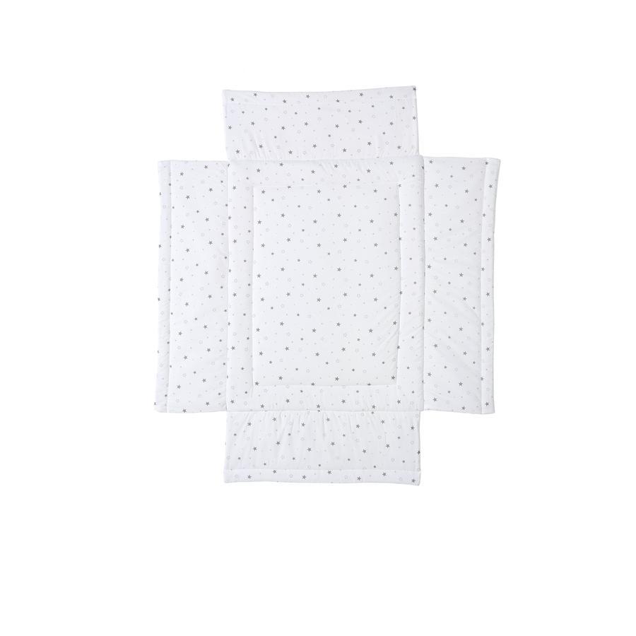 Schardt Polstrování do ohrádky hvězdičky šedé 75 x 100 cm