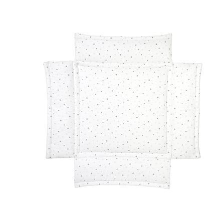 SCHARDT paracolpi per box bambino a stelle grigio 100 x 100 cm