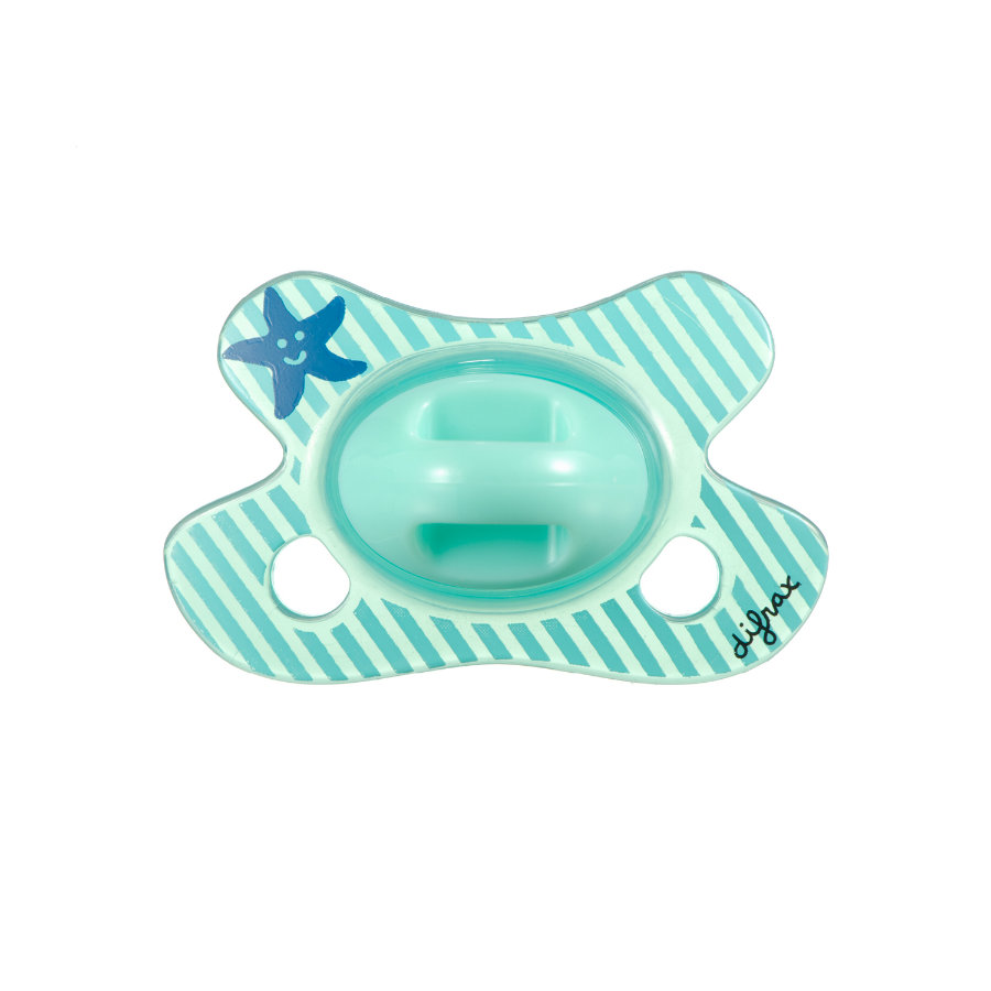 "difrax Natural Silikon-Schnuller ""Star"" Newborn 0-3 Monate"