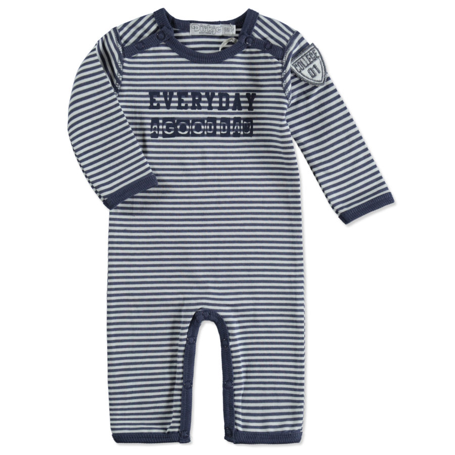 Dirkje Boys Overall steel blue