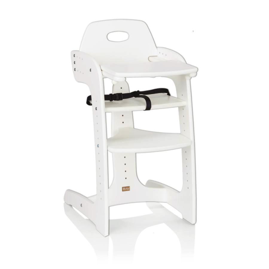 HERLAG Krzesełko do karmienia Tipp Topp Comfort IV kolor biały