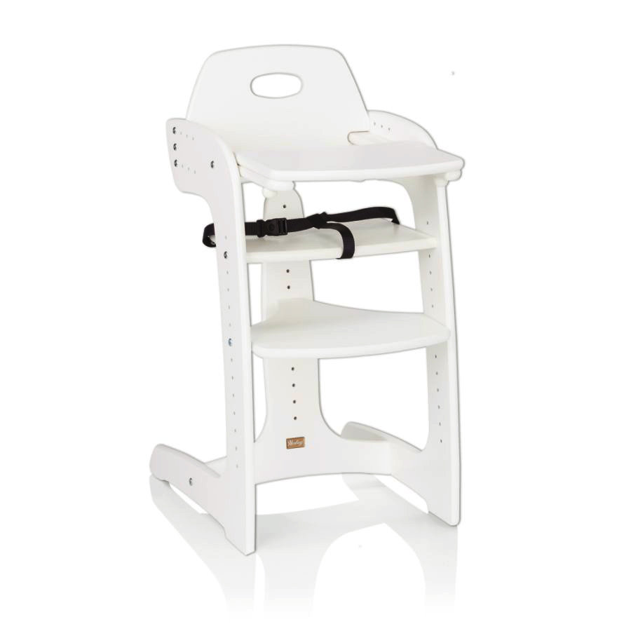 Jídelní židlička HERLAG Tipp Topp Comfort IV - bílá