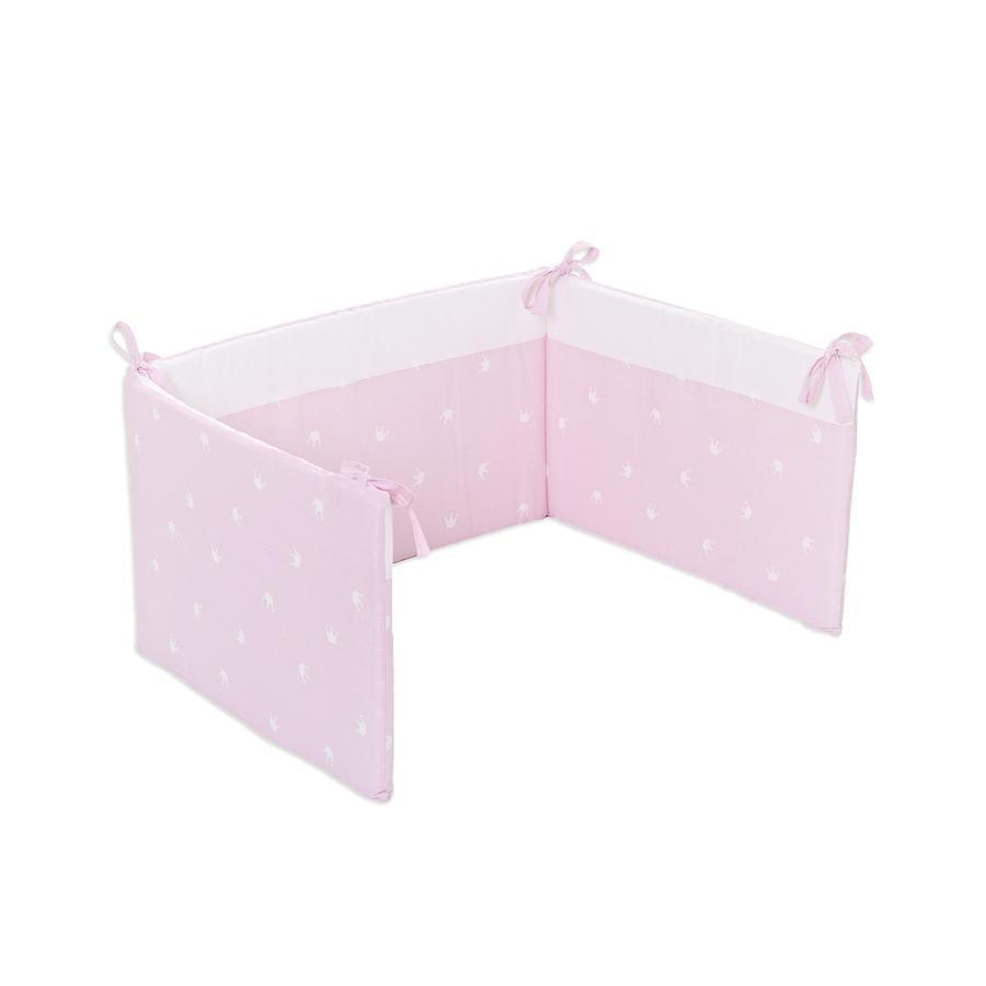 Träumeland Spjälskydd, rosa krona