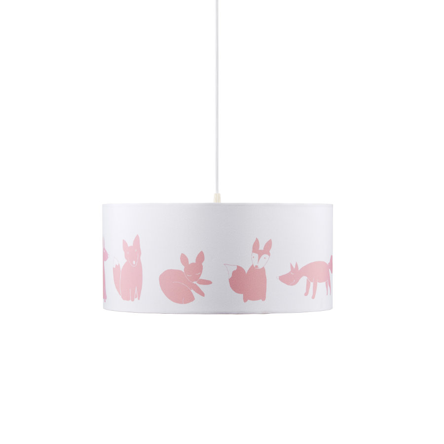 Kids Concept Lampa sufitowa Edvin, różowy