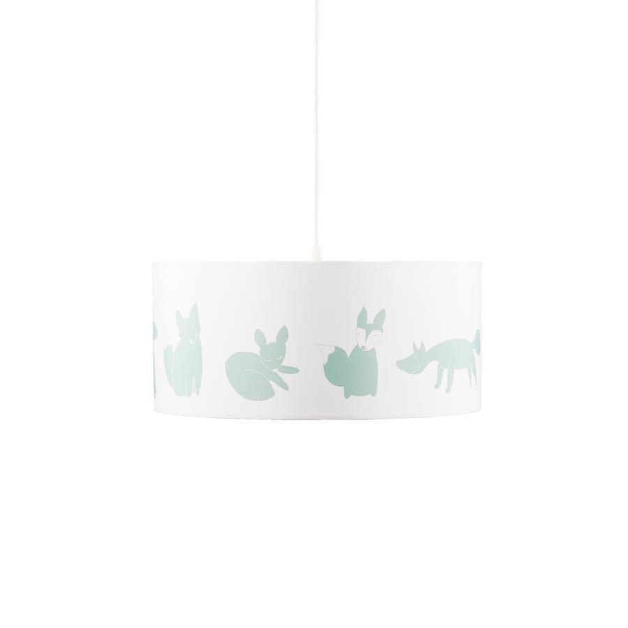 KIDS CONCEPT Lampa sufitowa Edvin, zielony