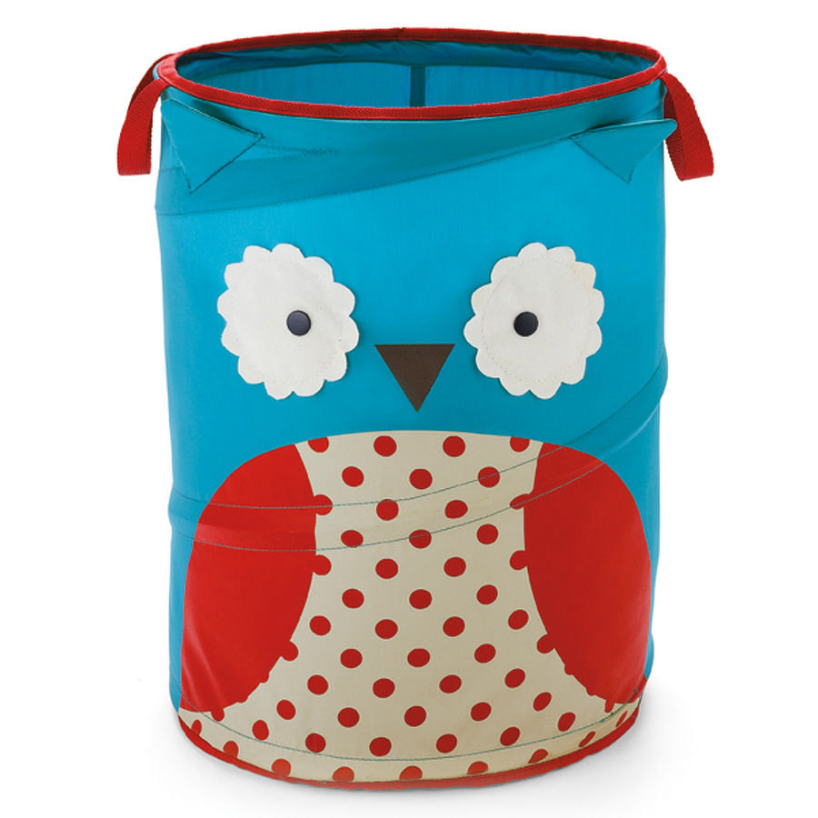 SKIP HOP Zoo Aufbewahrungsbox Zoo Pop Up Hamper Owl