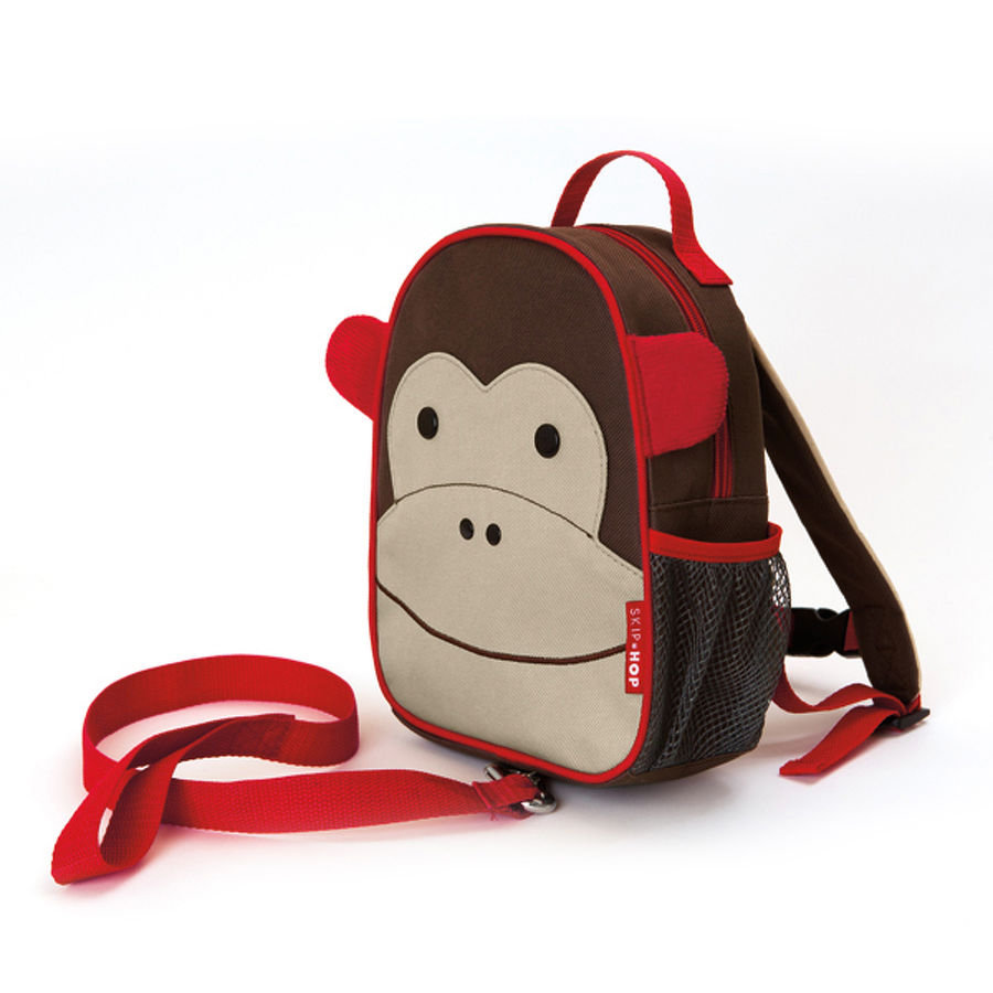 SKIP HOP Zainetto con funicella Zoo Let Monkey
