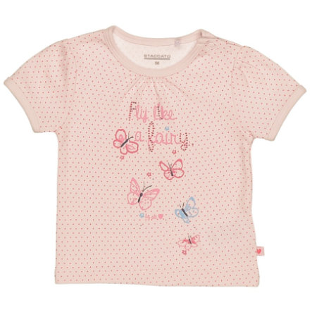 STACCATO Girls Baby T-Shirt rosy Dot