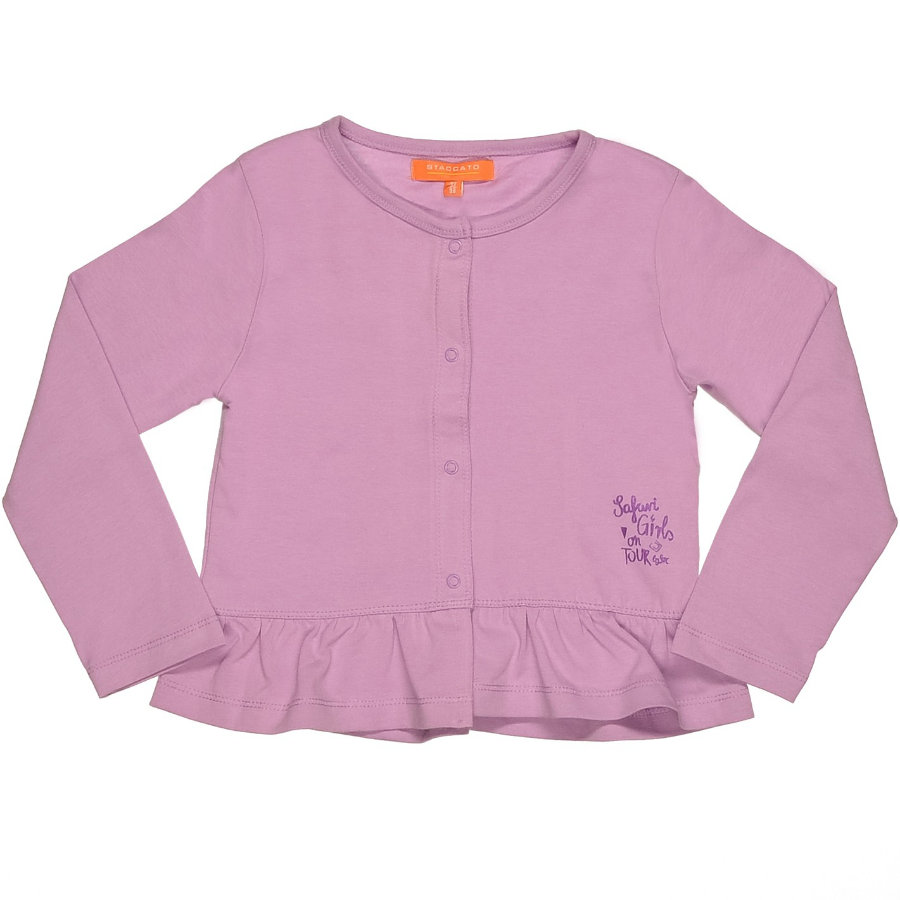 STACCATO Girls Mini Cardigan violet
