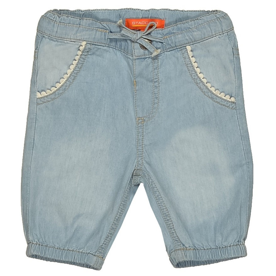 STACCATO Girls Baby Capri Hose light denim