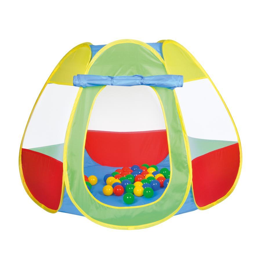 knorr® toys Carpa de juego  Bellox con 50 pelotas de juego