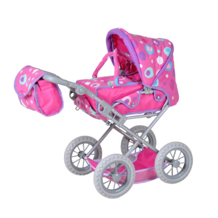 knorr® toys Poppenwagen combi Ruby
