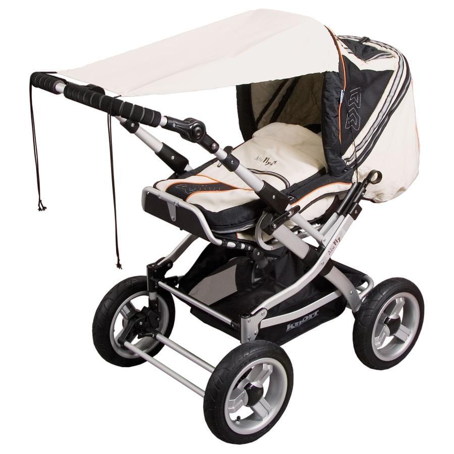 SUNNYBABY Solskydd för barnvagnar UPF 50+ Sand