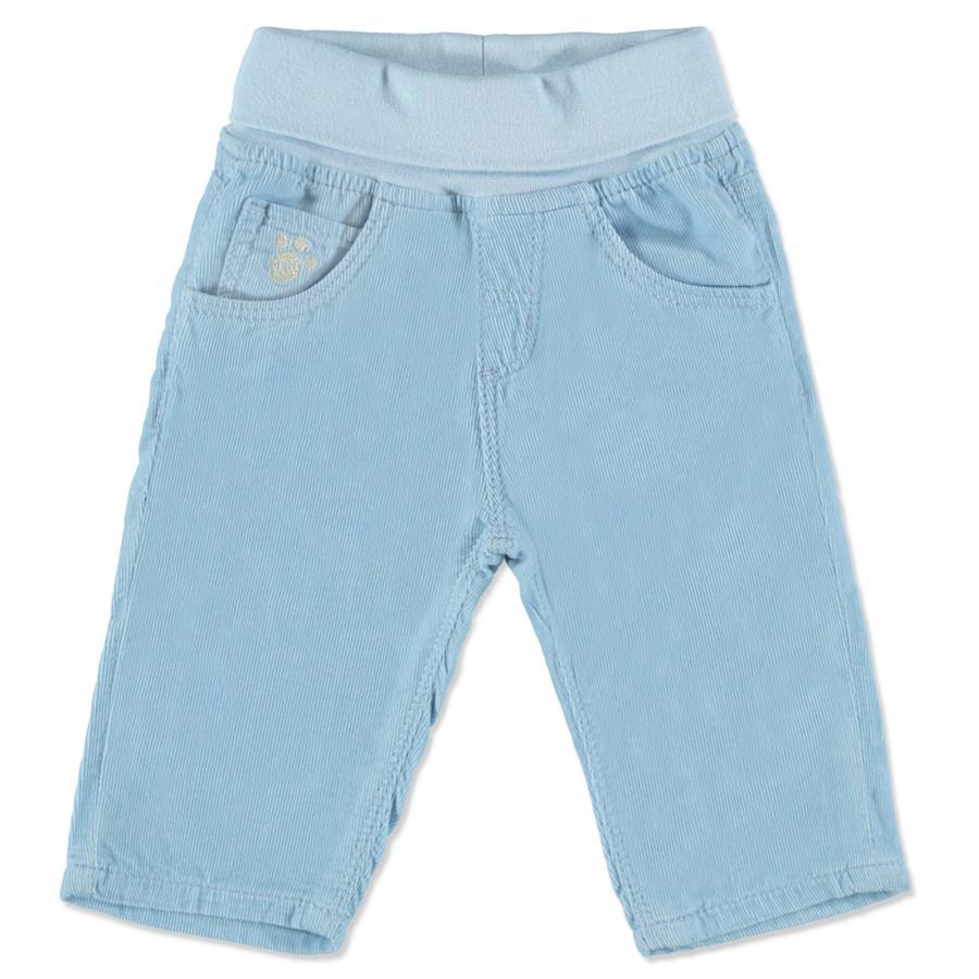 BLUE SEVEN Boys pantalon à bretelles bleu clair