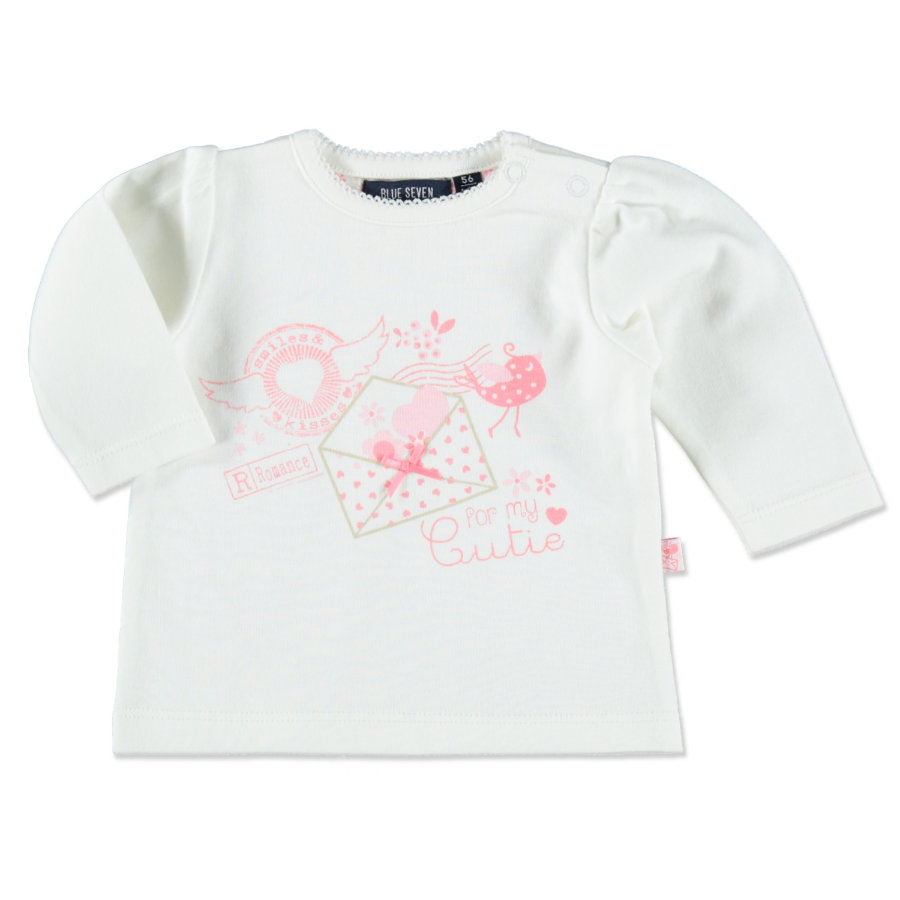 BLUE SEVEN Girls Longsleeve weiß