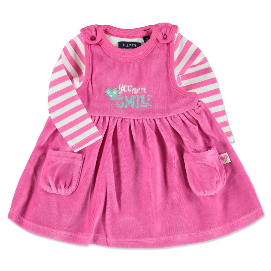 BLUE SEVEN Girls 2er Set pink