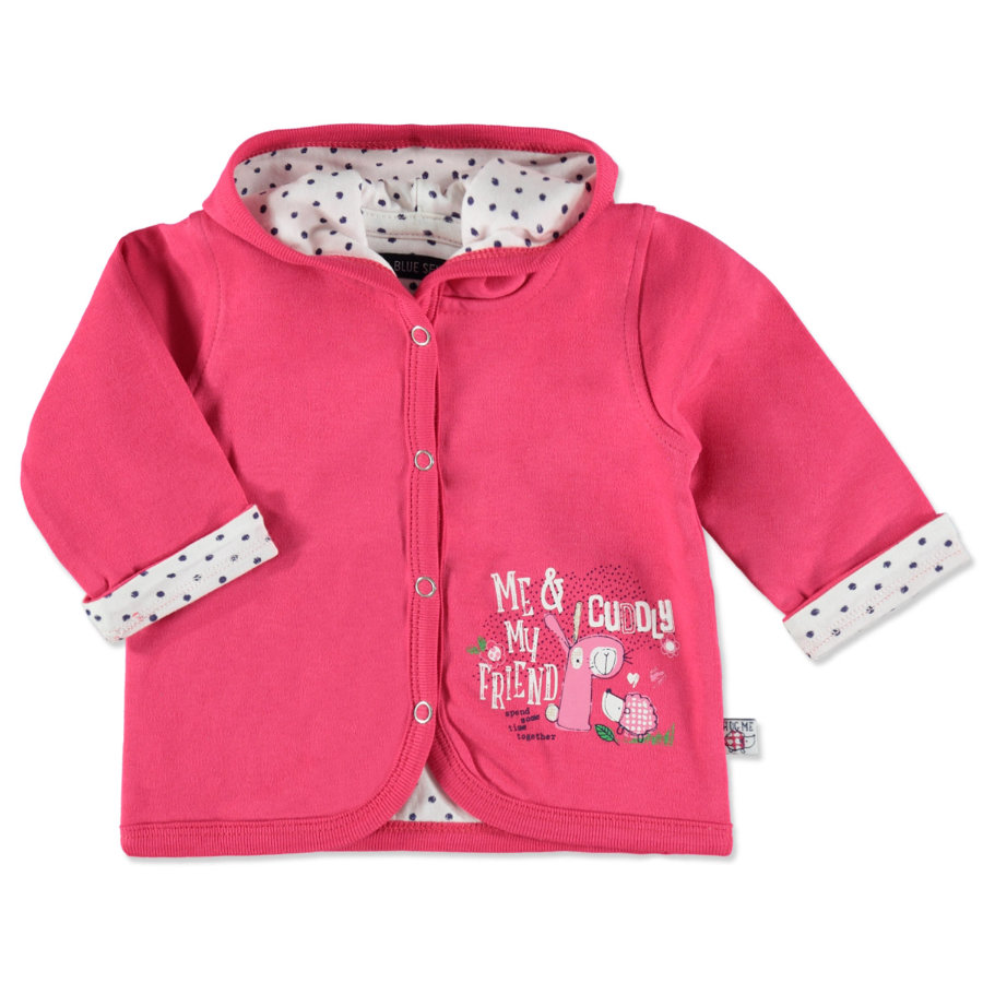 BLUE SEVEN Girls Sweatjacke pink