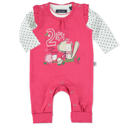 BLUE SEVEN Girls Stramplerset pink