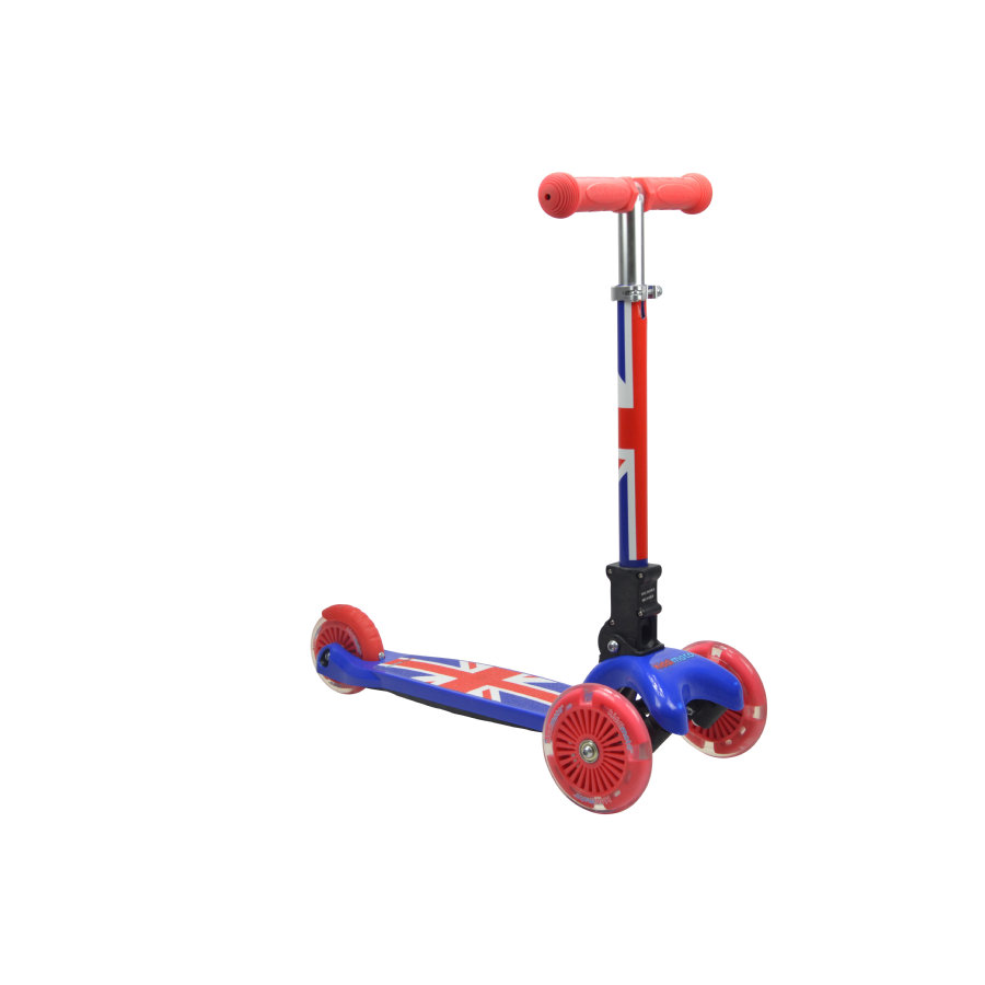 kiddimoto® Design Step Scooter u-zoom - Union Jack